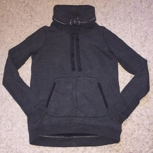 Lululemon athletica French terry pullover